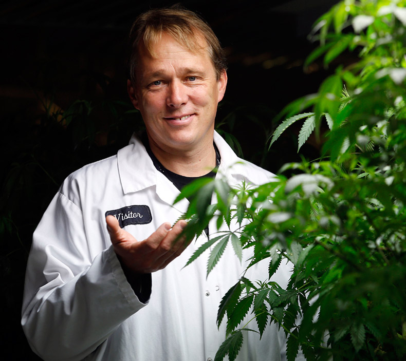 Canopy Growth Corporation e cannabis terapeutica, Bruce Linton