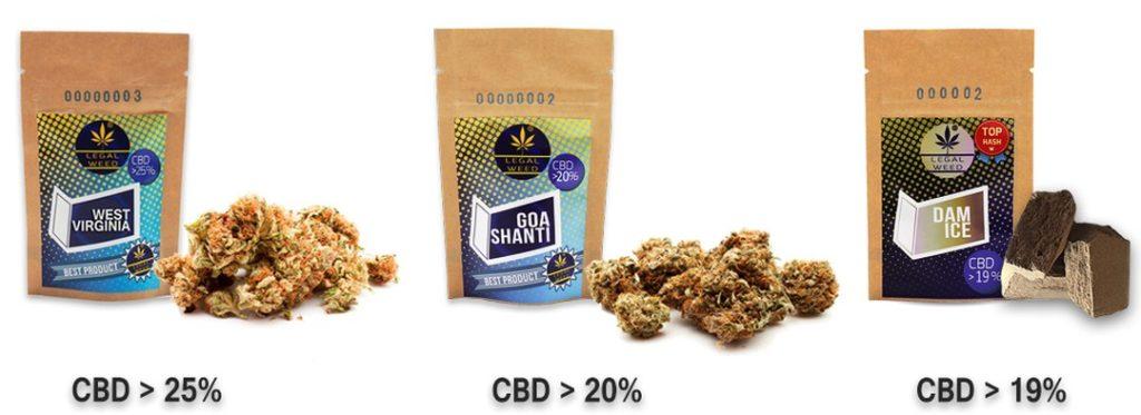 Cannabis Legale elevata concentrazione CBD