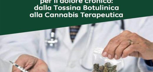 dolore cronico tra cannabis terapeutica e tossina botulinica