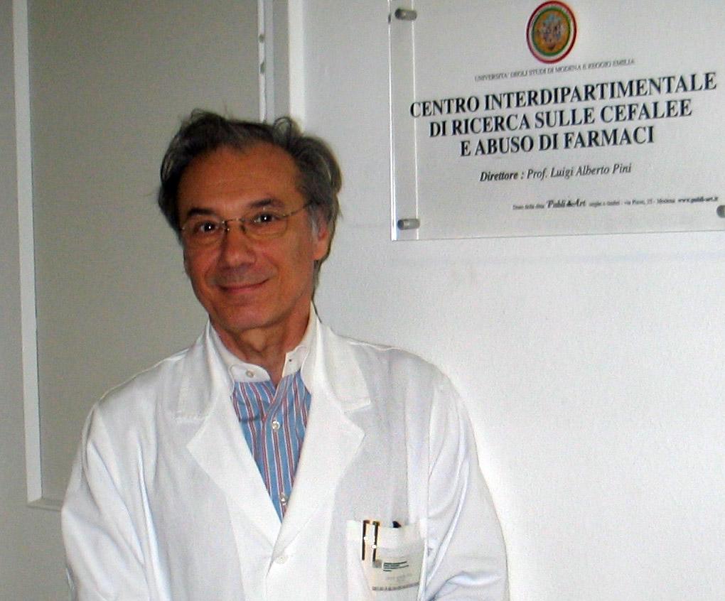 professore Luigi Alberto Pini dolore cronico tra cannabis terapeutica e tossina botulinica