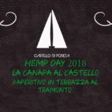 Hemp Day 2018 a Spoleto, Castello di Poreta e Le Canapaie