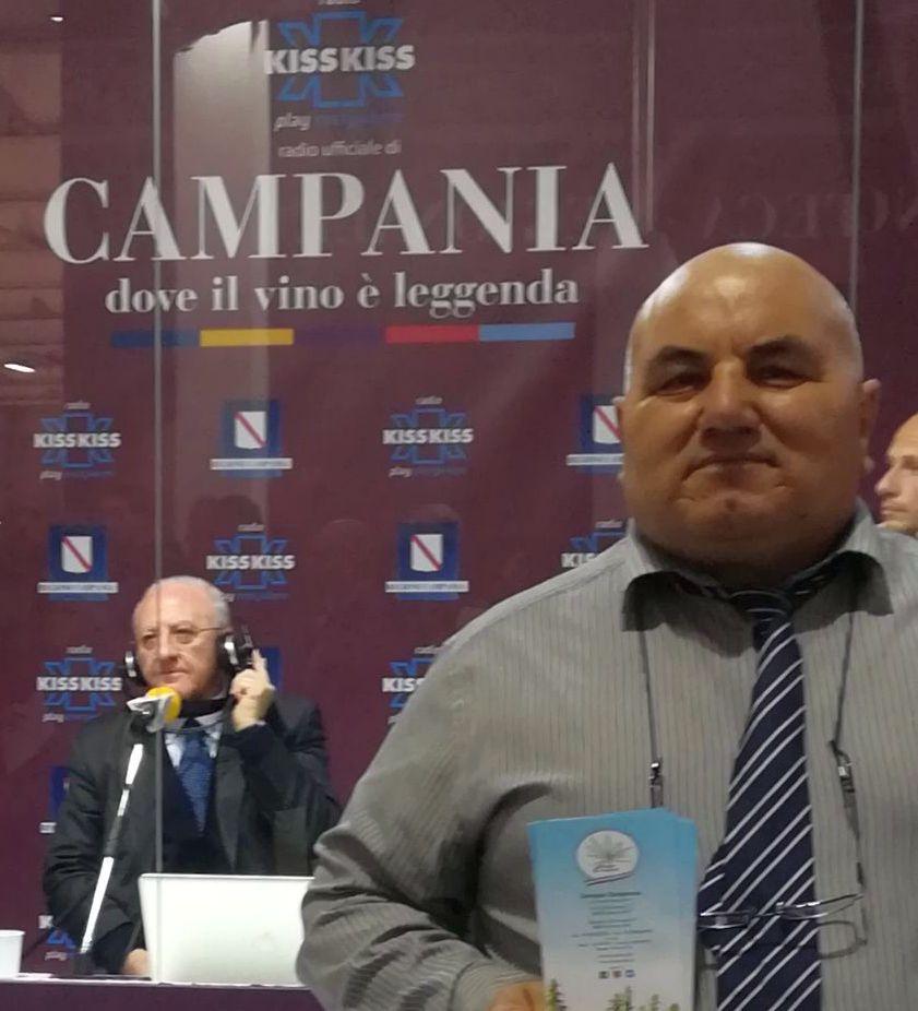 Canapa Campana al Vinitaly: Francesco Mugione