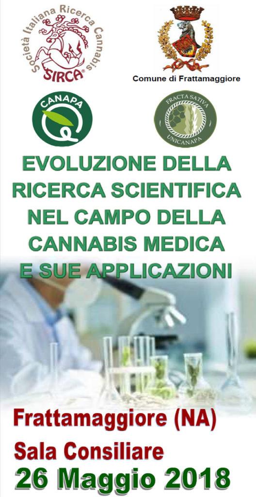 Canapa è Cannabis Terapeutica, Frattamaggiore 2018