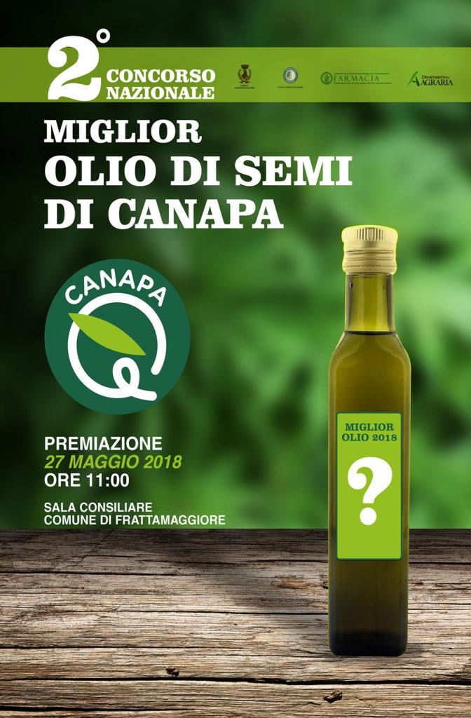 Canapa è 2018 premiazione miglior olio da semi di Canapa