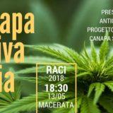 proposte del gruppo Canapa Sativa Italia al Raci di Macrata il 13 maggio
