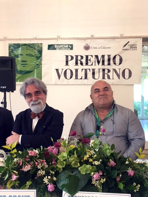 Premio Volturno 2018 alla Cooperativa Canapa Campana, il Maestro Vessicchio e Francesco Mugione