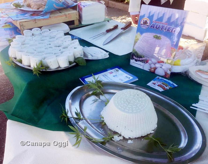 Canapa Campana, al Canapa Day 2018 anche i magnifici formaggi alla canapa del Caseificio Autieri