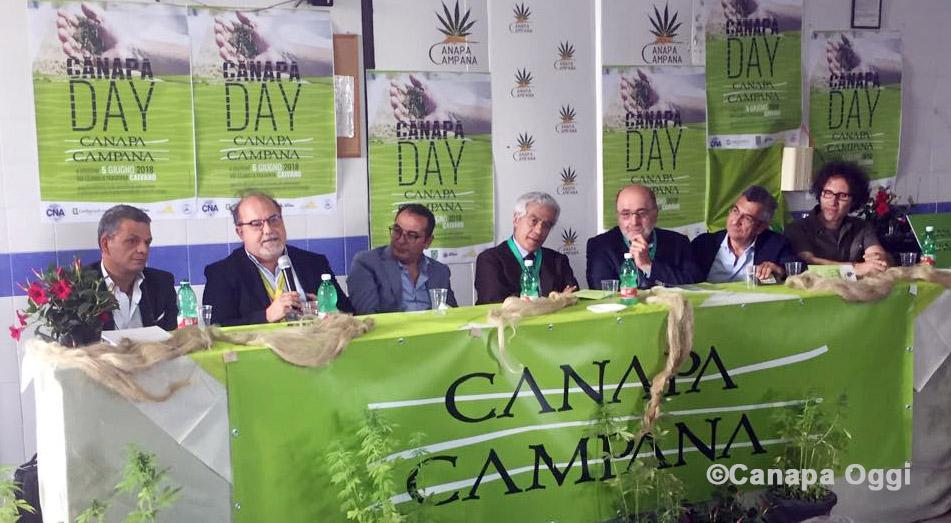 Canapa Campana, al Canapa Day 2018 gli approfondimenti tematici