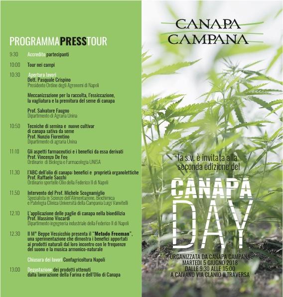 Secondo Canapa Day di Canapa Campana