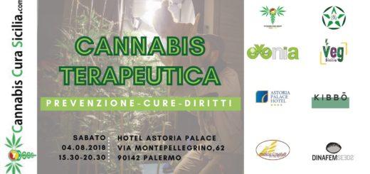 Cannabis terapeutica convegno a Palermo 4 agosto 2018
