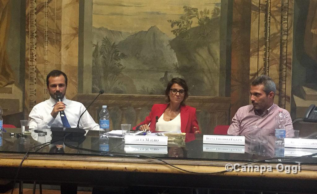 Confagricoltura e Canapa Giovanni Gioia e Claudio Previatello