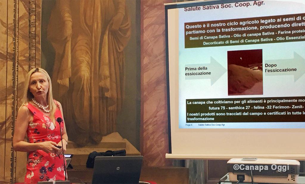 Confagricoltura e Canapa la relazione di Ornella Palladino di Salute Sativa