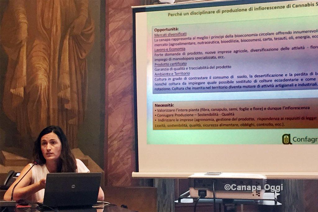 Confagricoltura e Canapa relazione di Roberta Papili