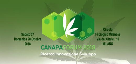 Canapaforum 2018 di Federcanapa