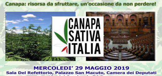 Canapa Sativa Italia alla Camera dei Deputati