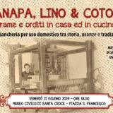 Canapa lino e cotone convegno a Umbertide 21 giugno 2019