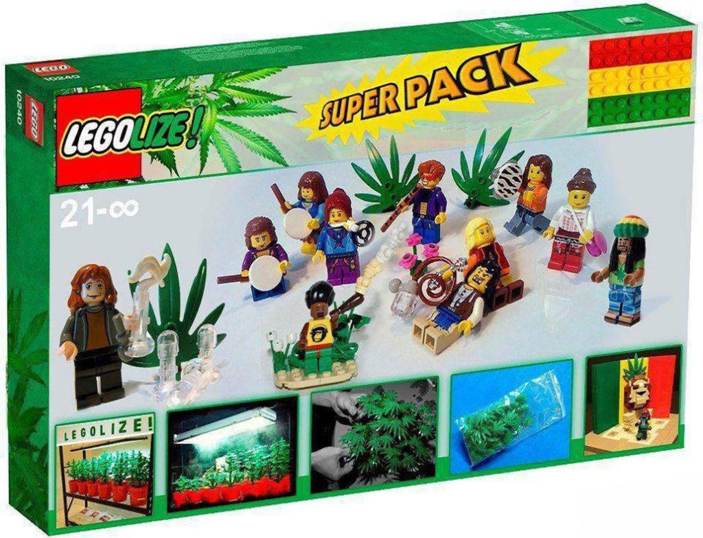 mattoncini della Lego potranno essere in plastica naturale da Canapa