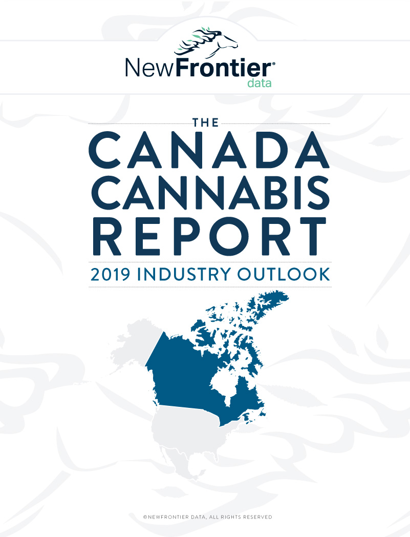 Canapa in Canada, analisi New Frontier Data