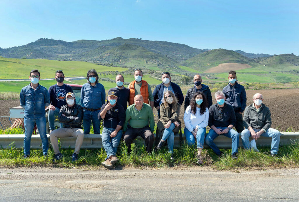 SEMinCANTA: Sicilia, Caltagirone il team del progetto